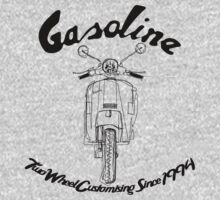 GASOLINE PX VESPA LINE ART DESIGN by GASOLINE DESIGN