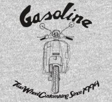 GASOLINE PX VESPA LINE ART DESIGN by GASOLINE DESIGN