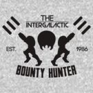 The Intergalactic Bounty Hunter by EggDough