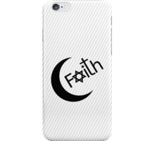 Faith - Black Graphic iPhone Case/Skin