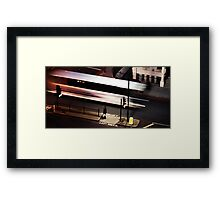 Night Bus Framed Print