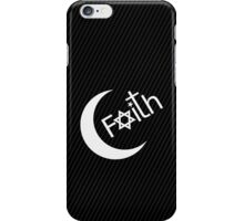 Faith - White Graphic iPhone Case/Skin