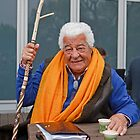 Antonio Carluccio at the RHS Chelsea Flower Show 2013 by Keith Larby