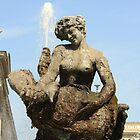 Rome Statue of the fountain dell'Esedra by orsinico