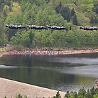 Dambusters 70 Years On - Flypast At The Derwent Dam - 8 by Colin J Williams Photography