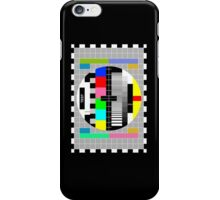 Television Test Pattern iPhone Case/Skin
