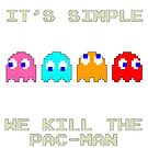 Pac Man Ghosts by Harry Martin