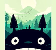 【3500+ views】Totoro Mountain by Ruo7in