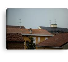 Alessandria cityscape #2 Canvas Print