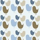Birds Wallpaper by Mike Taylor