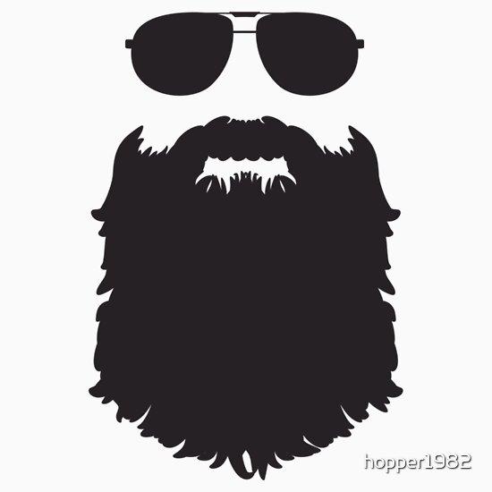 Beard outline - photo#4