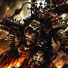 Blood Gorgons Marine by FailedDEATH666