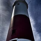 Portland Bill Lighthouse Stands Tall by CHINOIMAGES