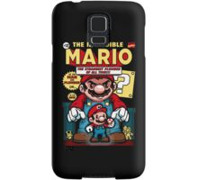 Incredible Mario Samsung Galaxy Case/Skin