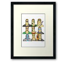 Movie Mugshots - Arnie Framed Print