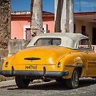 yellow in Cojimar, Cuba by Marzena Grabczynska Lorenc