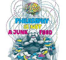 Philosophy is not a junk food by Ruta Dumalakaite
