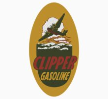 Clipper Gasoline Vintage T-shirt by JohnOdz