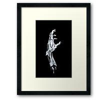 Zombie Hand Framed Print