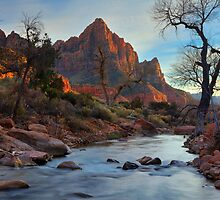 The Watchman in Winter-2 by outcast1
