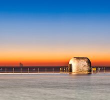Merewether Baths Sunrise - Newcastle Australia by RGA Photography