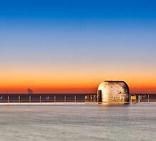 Merewether Baths Sunrise - Newcastle Australia by RGA Photography