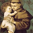Saint Anthony of Padua by KaneDeanMonroe