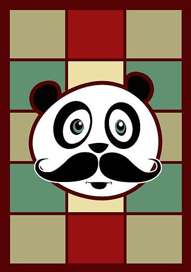 Mustache Panda 2 by Adamzworld