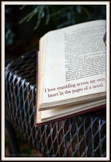 Between the pages... by Donna Keevers Driver