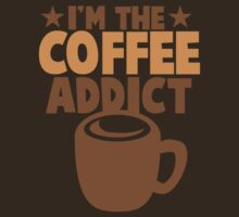 I'm the COFFEE addict by jazzydevil