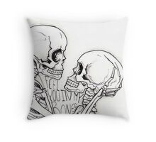 I Feel You In My Bones Throw Pillow