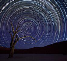Namibian Skies - Africa by Beth  Wode