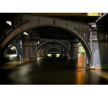Under the bridge Photographic Print
