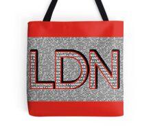 London Boroughs LDN Tote Bag