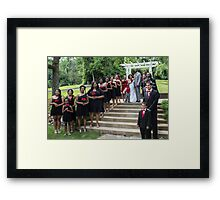 My First Wedding Shoot Framed Print