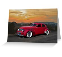 1940 Graham 'Hollywood' Retro Rod Greeting Card