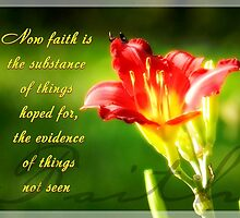 Faith is by ibelieveimages