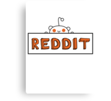 Reddit Sign Canvas Print