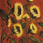 Sunflowers #1 by Halina Plewak