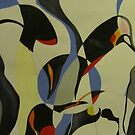 Penguins abstract. by cathyjane