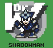 Shadow Man with Black Text by Funkymunkey