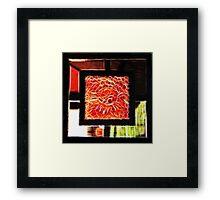 Fractal Abstract. Framed Print
