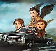 Supernatural by ravefirell