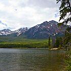 Mountains in Jasper, Alberta  by Jessica Karran