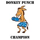 Donkey Punch Champion by thatdavieguy