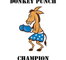 Donkey Punch Champion by thatdavieguy
