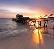 Shelly Beach Sunrise by Nick Skinner