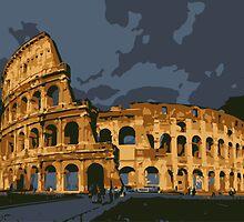 Colosseum by zodezine