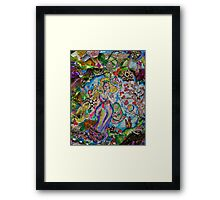 Lady of Whimsy and Wonder Framed Print