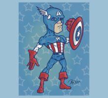 Captain America by Creativecyclone